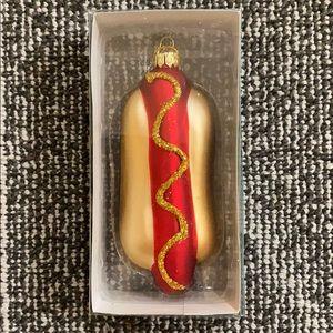 🆕 Kurt S. Adler Hotdog Ornament